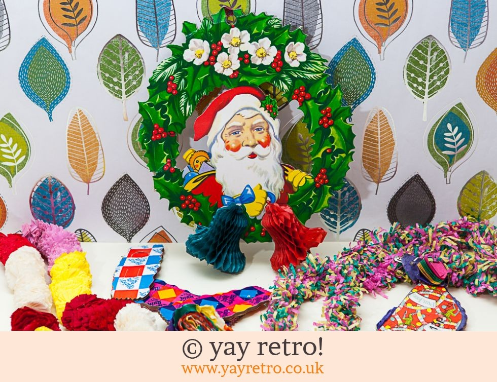 Vintage Paper Xmas Decorations 1950/60s (£4.00)