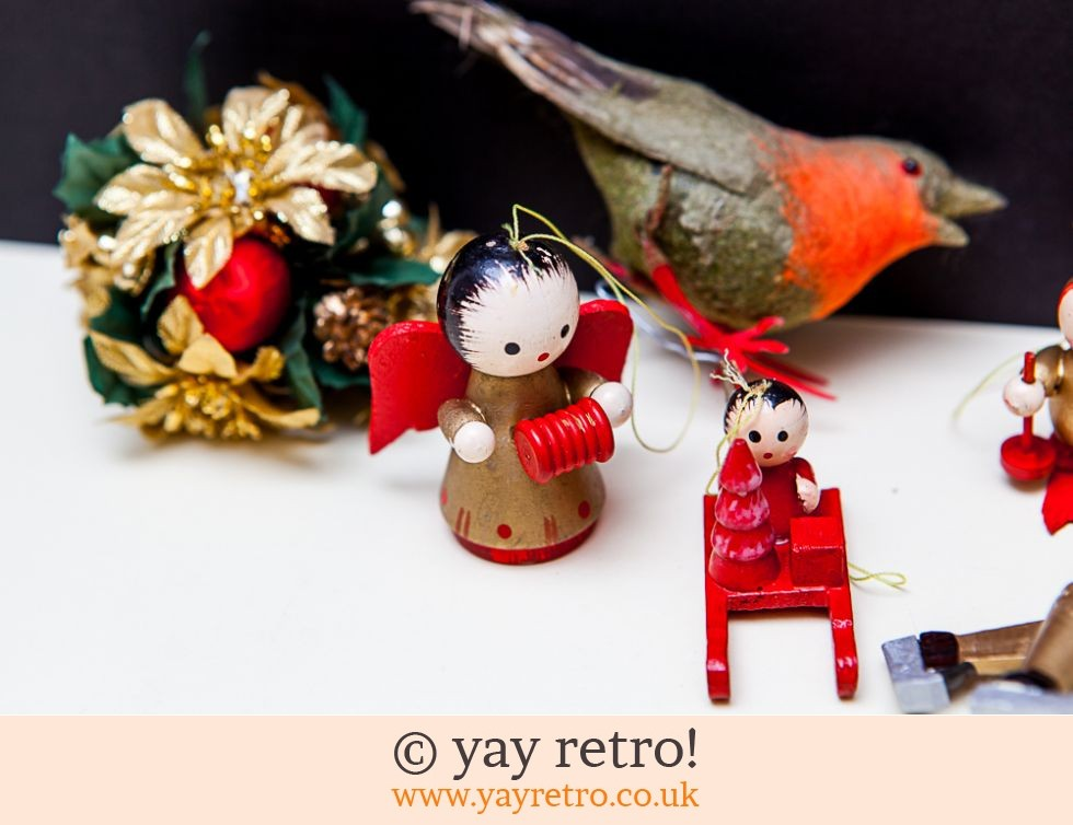 Vintage Christmas Decorations (£6.00)