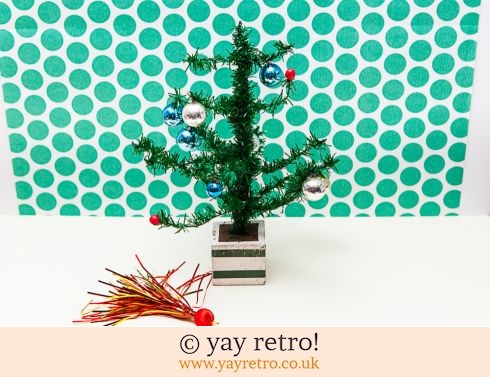 0: Vintage Tinsel Christmas Tree West German (£14.00)