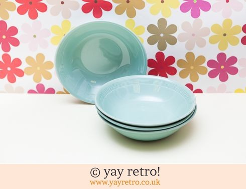 58: 4 Woods Beryl Dishes (£11.50)