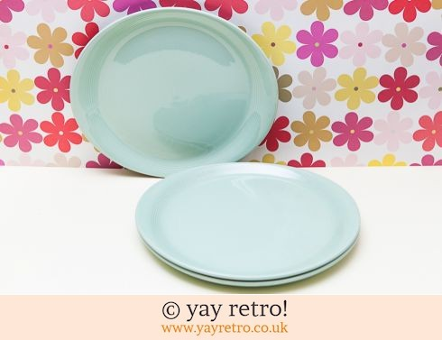 58: Woods Beryl Oval Steak Plates x 3 unused (£15.00)