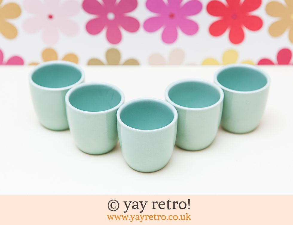 Woods Ware: 5 x Beryl Egg Cups (£30.00)