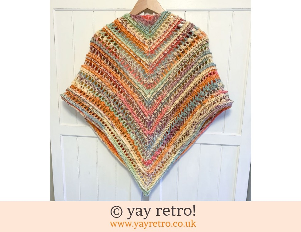 Sherbet Sensation Crochet Shawl (£32.50)