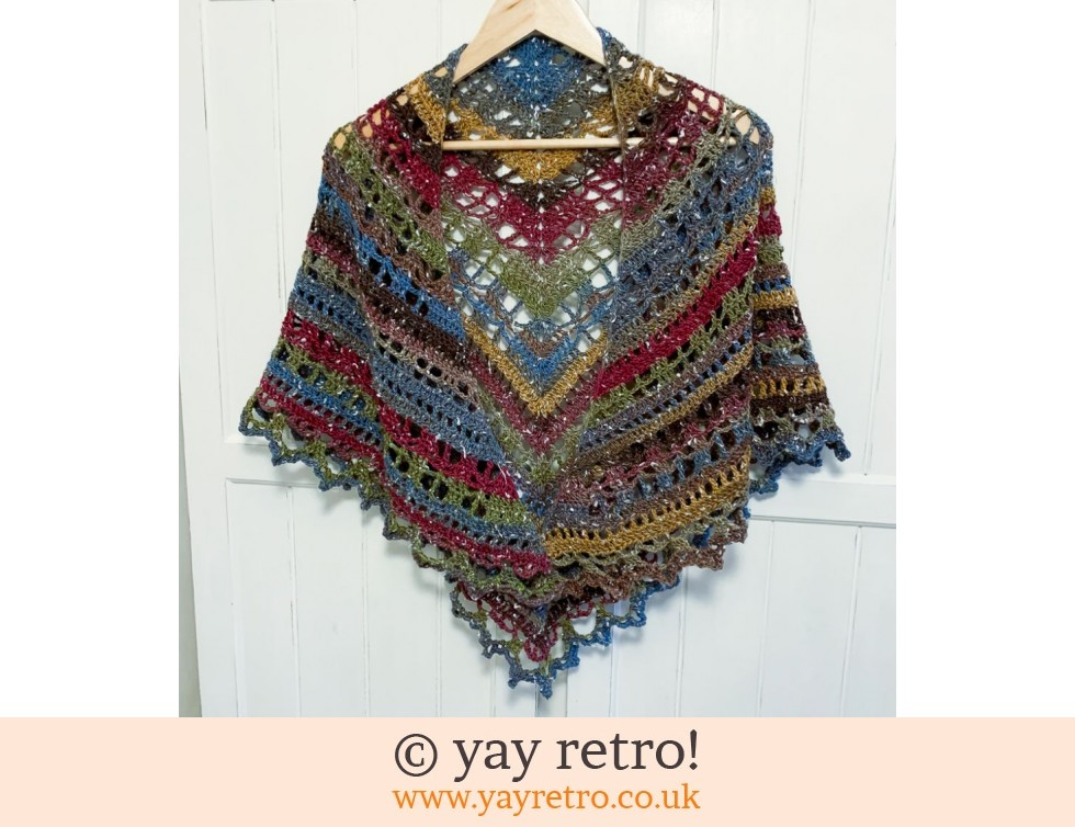 Autumn Lights Tranquility Shawl (£32.50)