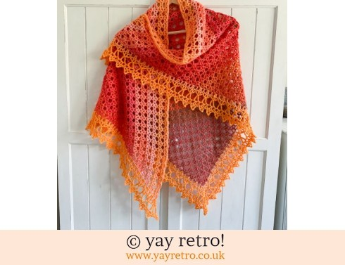 152: 'Endless Summer' Treasure Net Crochet Shawl (£30.00)