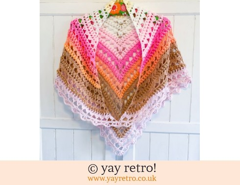 'Sweet Dreams' V for Vintage Shawl (£32.50)