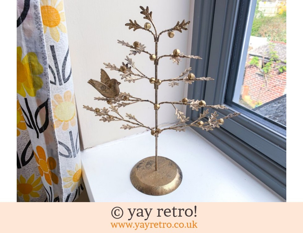 Bird & Bells Gold Oak Tree (£14.00)