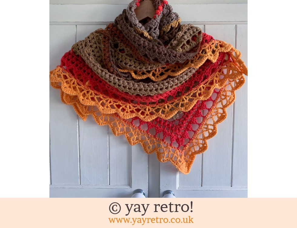 'Elements' V for Vintage Crochet Shawl (£32.50)