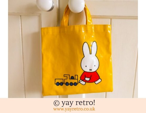201: Miffy Bright Yellow Mini Bag (£7.50)