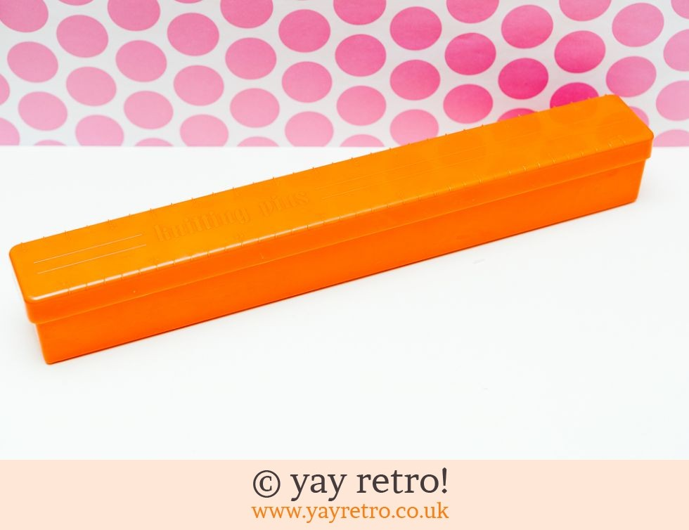 Twinco: Twinco Knitting Pins Box - Orange! (£9.00)
