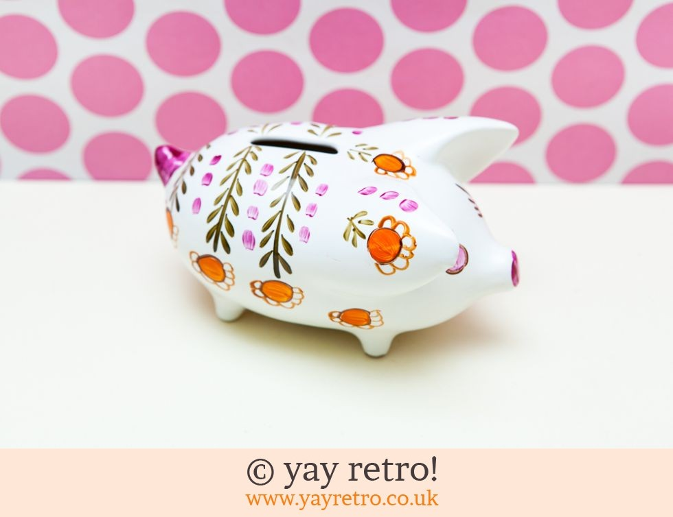 Arthur Wood: 1960/70s Daisy Piggy Bank (£17.50)