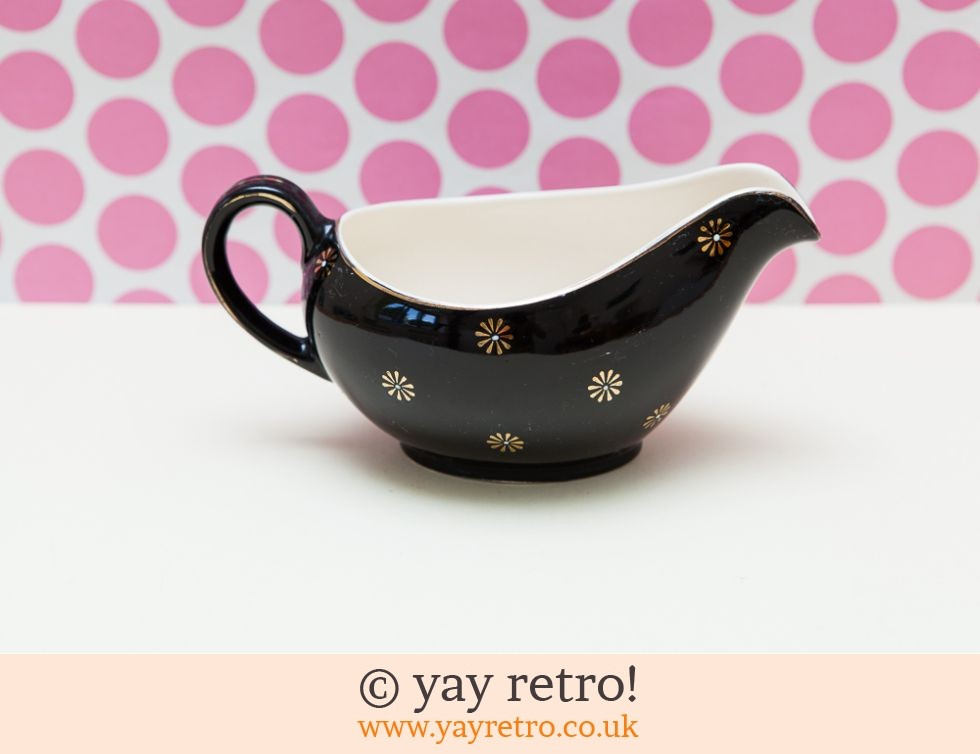 Black Midnight Star Gravy / Custard Jug (£12.00)