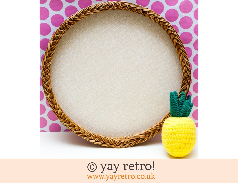 1950/60s Wicker & Formica Tray (£14.00)
