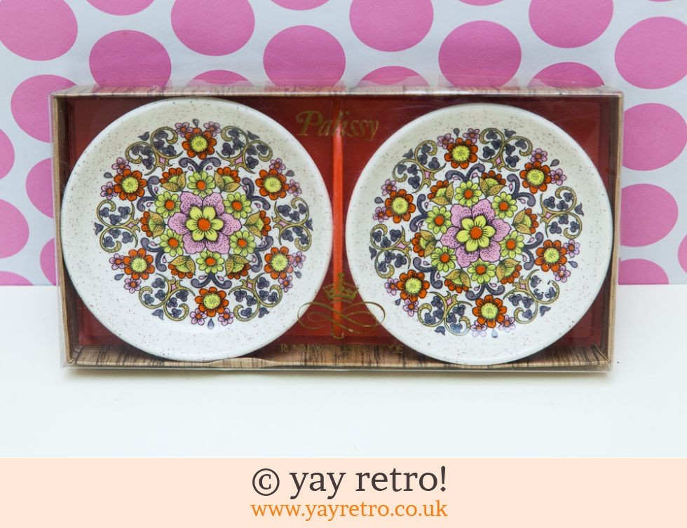 Palissy: Flower Power Preserve Dishes Set Boxed (£11.00)