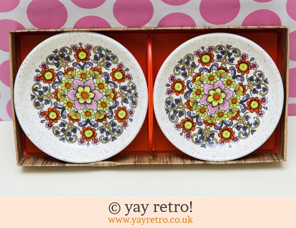 Flower Power Preserve Dishes Set Boxed (£11.00)