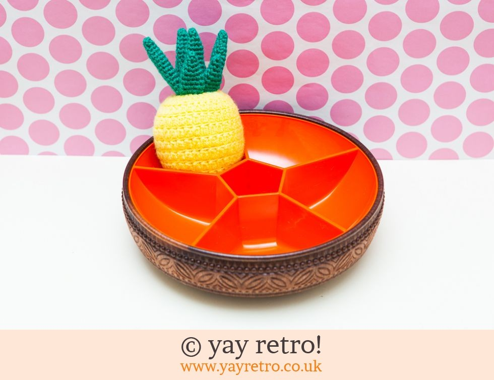 Emsa: Bright Orange Emsa Snack Bowl (£17.00)