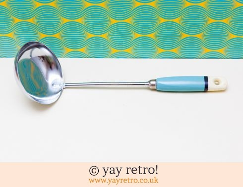 472: Sky Blue Vintage Skyline Ladle Unused (£11.00)