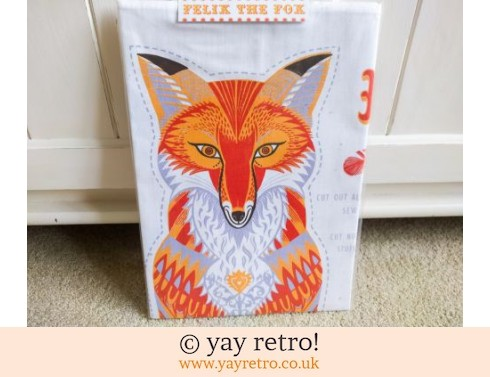 830: Felix The Fox Tea Towel - Toy - Cushion - Picture Kit NEW (£13.95)