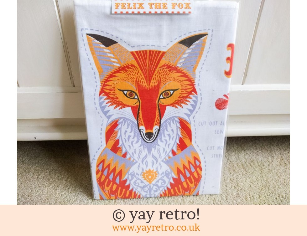 Sarah Young: Felix The Fox Tea Towel - Toy - Cushion - Picture Kit NEW (£13.95)