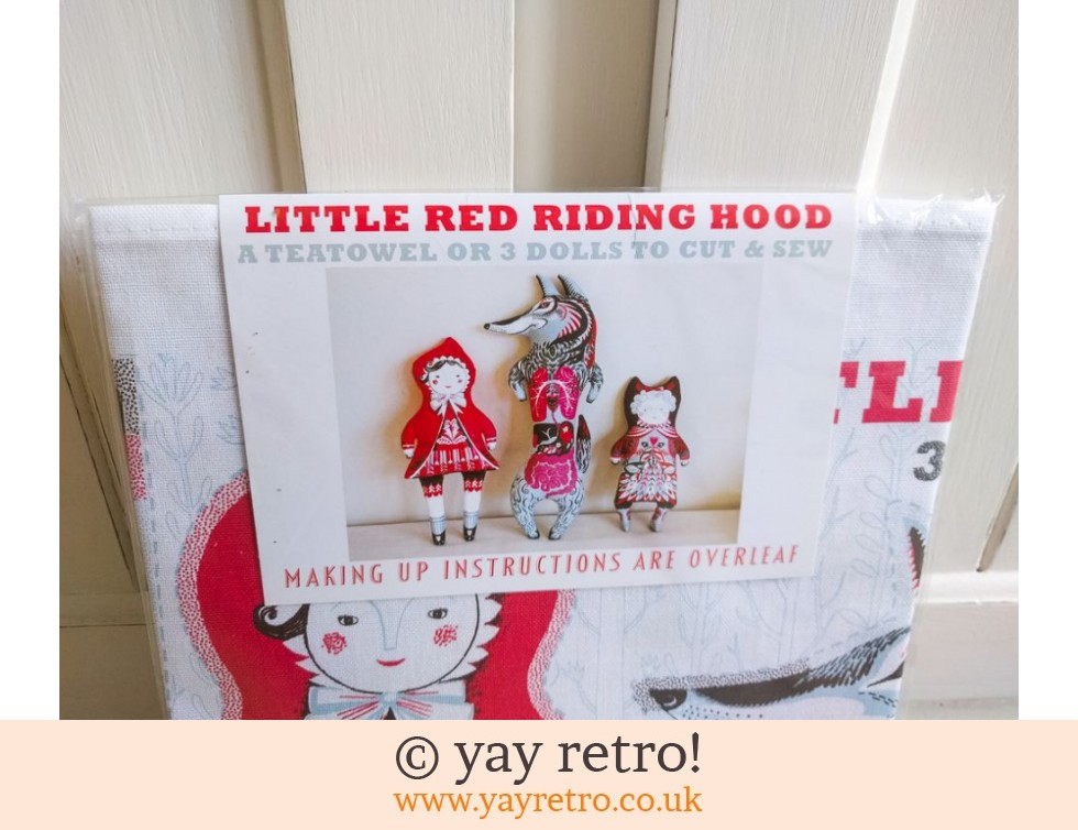 Little Red Riding Hood Tea Towel - Toy - Cushion - Picture Kit NEW (£13.95)