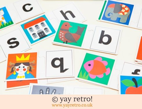 163: Fab Alphabet Game - Gorgeous Illustrations (£7.00)