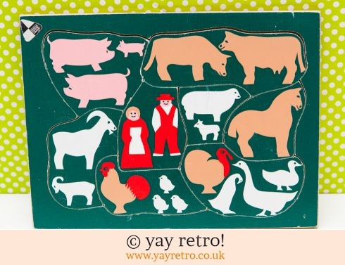 447: Design Centre Farm Jigsaw 60/70s (£8.00)
