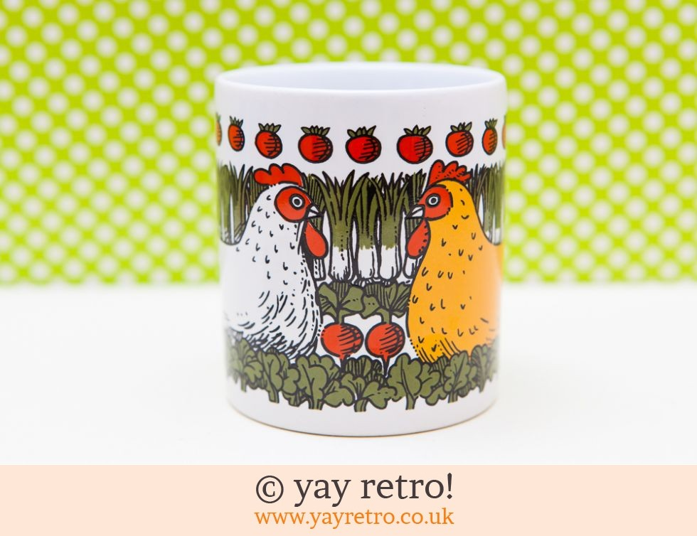 Pat Albeck Mug - Happy Chicken! (£11.00)