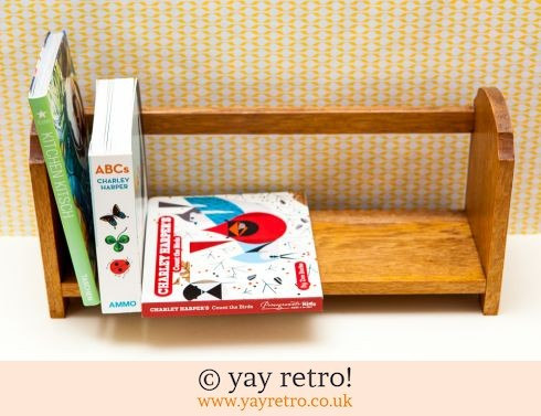 0: Vintage Table Top Book Shelf 1930/40s (£18.50)