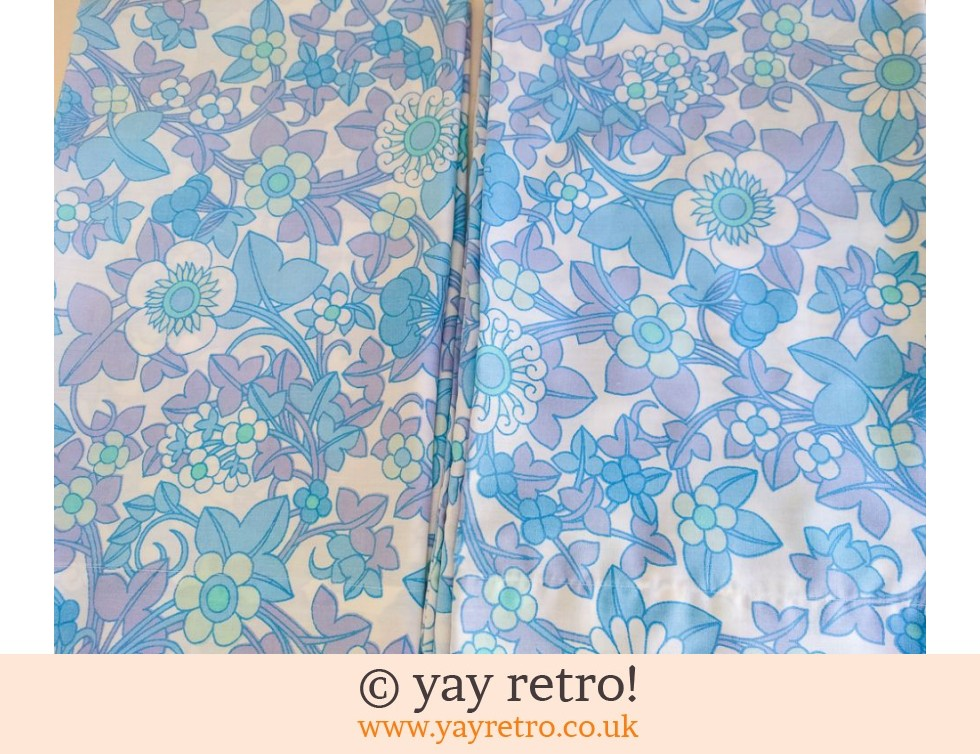 Vintage Dorma Blue Pillowcases (£10.00)