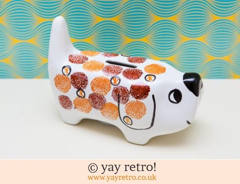 Arthur Wood: Arthur Wood Spotty Dog Money Box (£30.00)