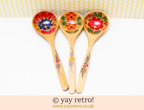 Collectable Wooden Decorative Spoons (£17.00)