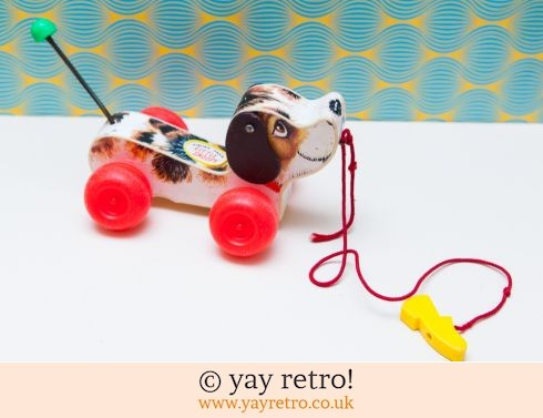 535: Vintage Fisher Price Snoopy Dog 1965 (£10.00)