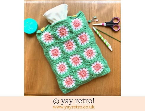 152: Crazy Daisy Crochet Hot Water Bottle Set (£19.50)