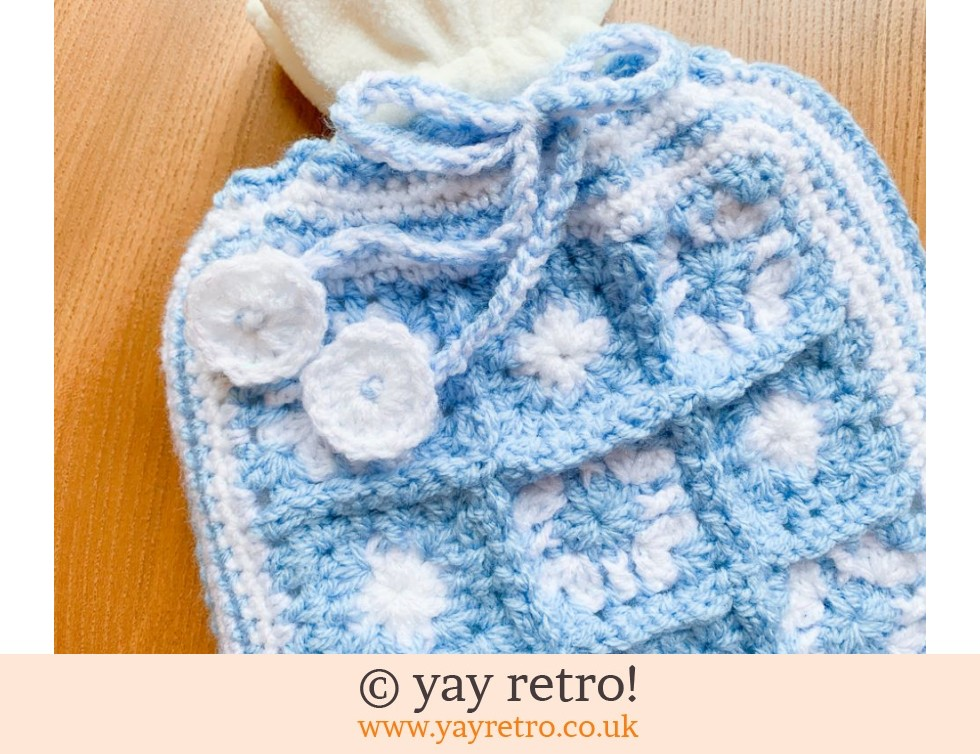 Sparkly Crochet Hot Water Bottle Set (£18.50)