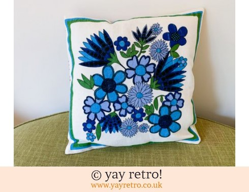 0: Vintage Fabric 'Taunton Vale Design' Cushion (£18.00)