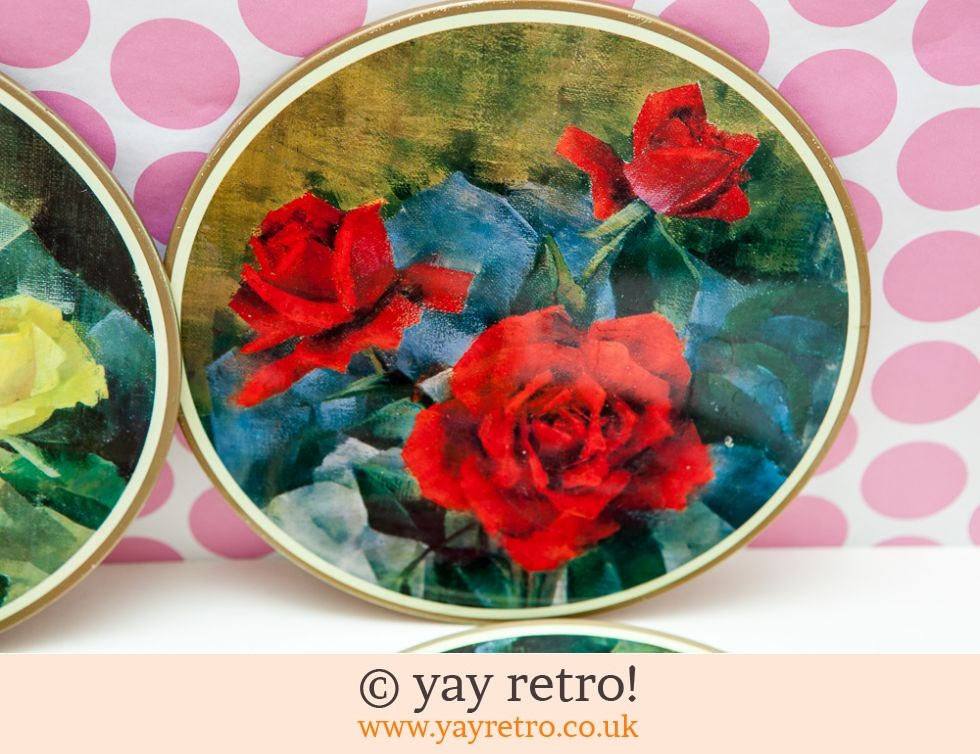 1950/60s Worcesterware table Mats Roses (£12.00)