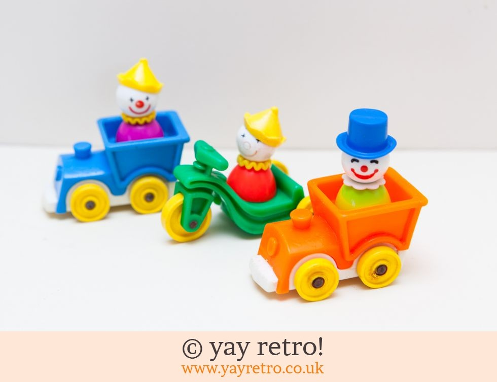 Fisher Price Clowns & Vehicles rare (£14.00)