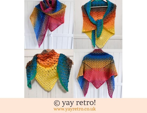 152: Pre-Order a 'Waves' Crochet Shawl (£32.50)