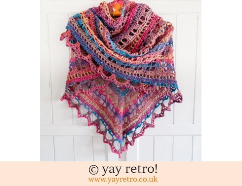 'Northern Lights' Shawl (£32.50)