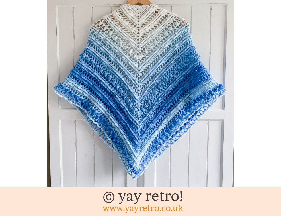 Blue Sky Crochet Shawl (£32.50)