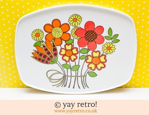 55: Superb Flower Power 1974 Tray (£23.00)