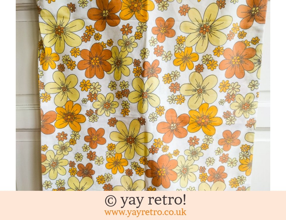 Flowery Vintage Pillow Case (£7.00)
