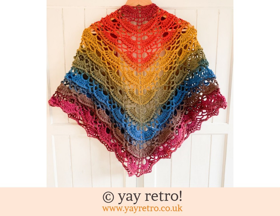 Butterfly Textured Crochet Shawl (£35.50)