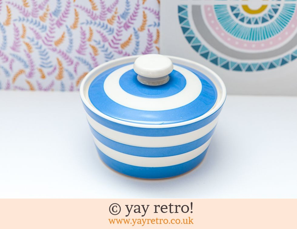 TG Green: Cornishware Blue Butter Dish (£19.50)