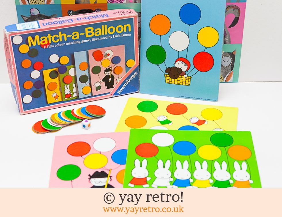 miffy match a balloon colour matching game