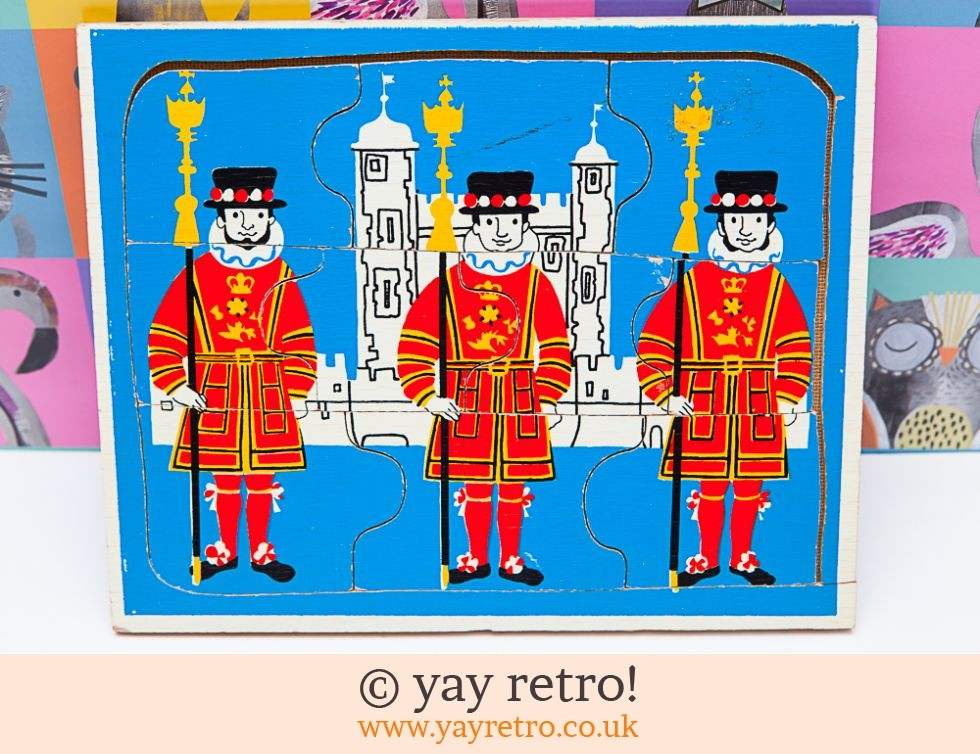 Beefeater Tower of London Jigsaw 60/70s (£8.00)
