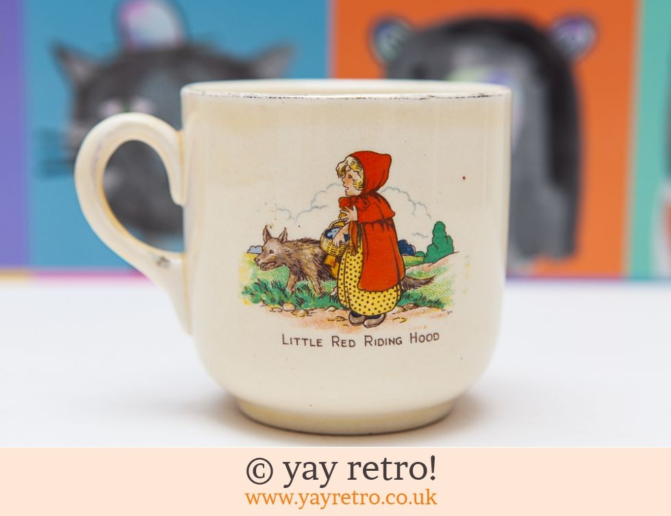 Puss in Boots & Red Riding Hood 50/60s Mug (£3.00)