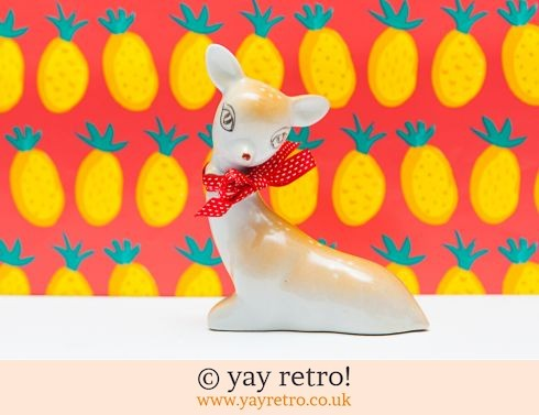 0: 1950/60s Kitsch Deer or Fawn Large (£12.00)