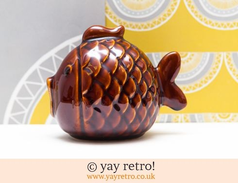 0: 1970s Cute Fish Money Box (£9.75)