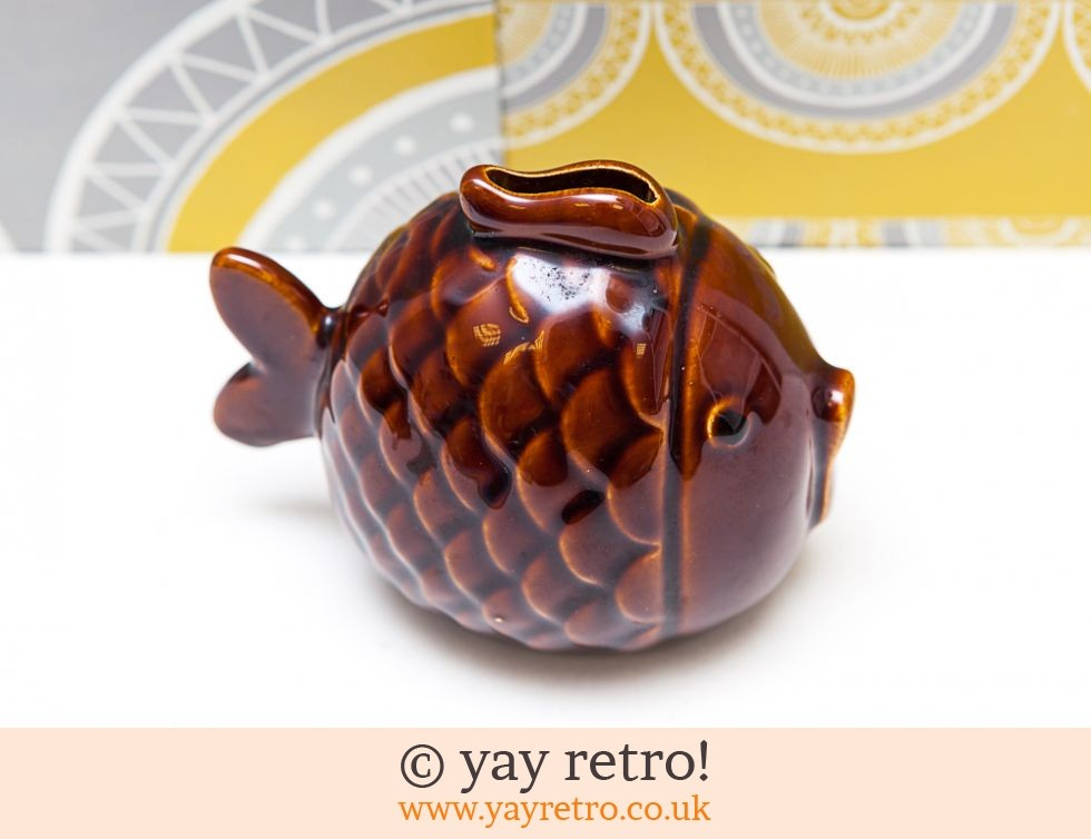 1970s Cute Fish Money Box (£9.75)